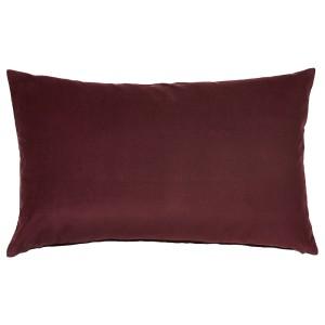 САНЕЛА Чехол на подушку, темно-красный