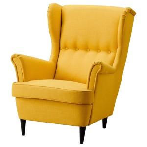 СТРАНДМОН Кресло с подголовником
