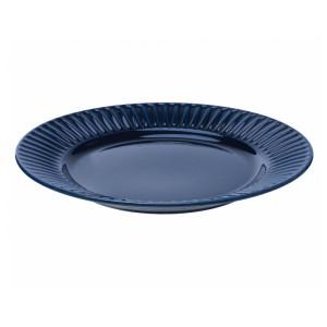 СТРИММИГ Тарелка, каменная керамика синий