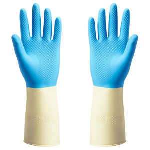 ПОТКЕС Резиновые перчатки, синий