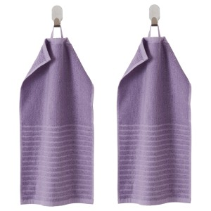 ВОГШЁН Полотенце, фиолетовый, 2шт