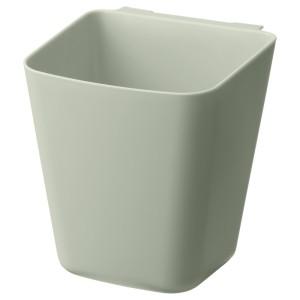 СУННЕРСТА Контейнер, бледно-зеленый