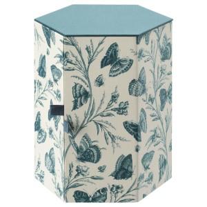 АНИЛИНАРЕ Декоративная коробка, зеленый, бабочка бумага