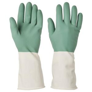 РИННИГ Хозяйственные перчатки, зеленый