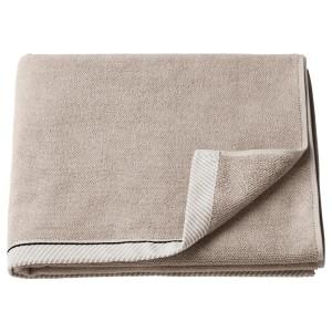 ВИКФЬЕРД Банное полотенце, темно-бежевый