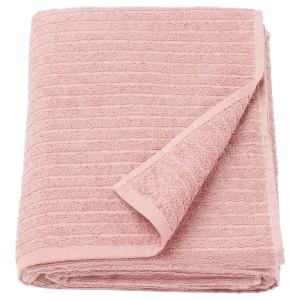 ВОГШЁН Простыня банная, светло-розовый