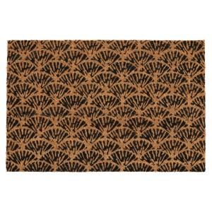 КАСКАДГРАН Придверный коврик для дома, неокрашенный, темно-коричневый