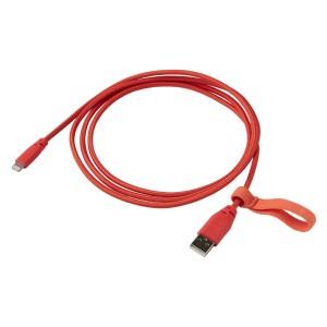 ЛИЛЛЬХУЛЬТ Кабель USB тип А – lightning, текстиль, оранжевый