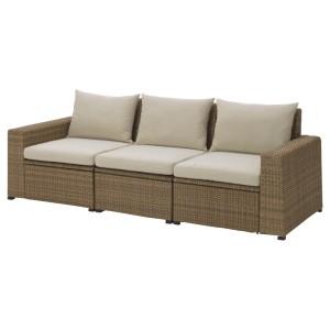 СОЛЛЕРОН 3-местный модульный диван, садовый