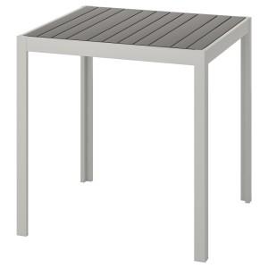 ШЭЛЛАНД Садовый стол, темно-серый, светло-серый