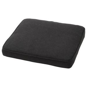ЙЭРПОН/ДУВХОЛЬМЕН Подушка на садовый стул, темно-серый антрацит