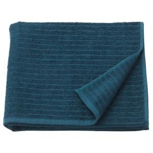 ВОГШЁН Банное полотенце, темно-синий