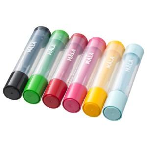 МОЛА Штампы, разные цвета разные цвета, 6шт