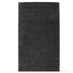 ОДУМ Ковер, длинный ворс, темно-серый