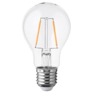 ЛУННОМ Светодиод E27 100 лм, шаровидный прозрачное стекло
