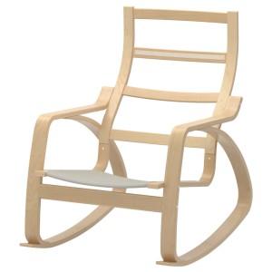 ПОЭНГ Каркас кресла-качалки, березовый шпон