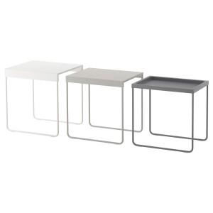 ГРАНБОДА Комплект столов, 3 шт