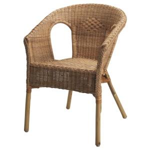 АГЕН Кресло, ротанг, бамбук
