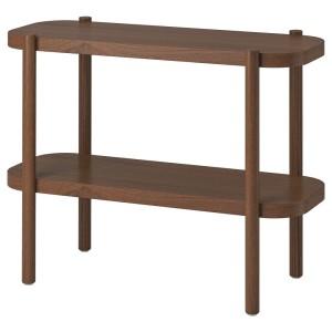 ЛИСТЕРБИ Консольный стол, коричневый