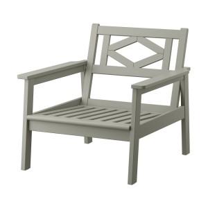 БОНДХОЛЬМЕН Садовое кресло, серый морилка серый