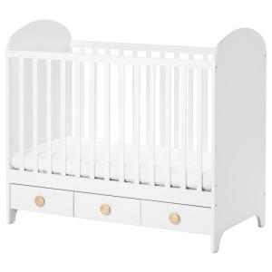 ГУНАТ Кроватка детская, белый