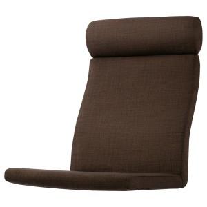 ПОЭНГ Подушка-сиденье на кресло, Шифтебу коричневый