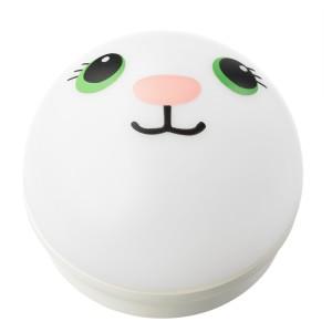 КОРНСНО Светодиодный ночник, белый, кролик с батарейным питанием