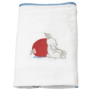ВЭДРА Чехол на пеленальную подстилку, орнамент «кролики», белый