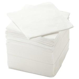 СТОРЭТАРЕ Салфетка бумажная, белый, 150шт