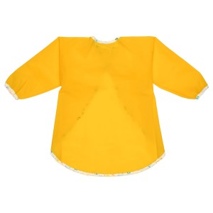 МОЛА Фартук с длинными рукавами, желтый