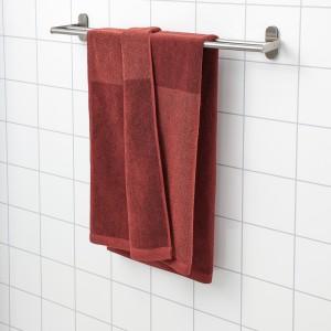ХИМЛЕОН Банное полотенце, коричнево-красный, меланж