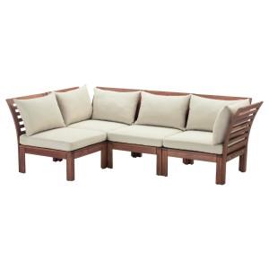 ЭПЛАРО Модульный угл 3-мест диван, садовый