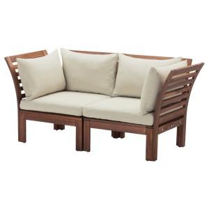 ЭПЛАРО 2-местный модульный диван, садовый