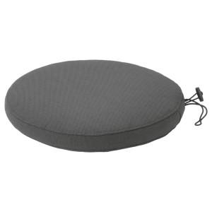 ФРЁСЁН/ДУВХОЛЬМЕН Подушка на садовый стул, темно-серый