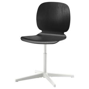 СВЕН-БЕРТИЛЬ Рабочий стул, черный, Бальсбергет белый