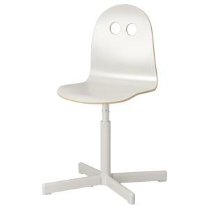 ВАЛЬФРЕД / СИББЕН Детский стул д/письменного стола, белый