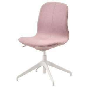 ЛОНГФЬЕЛЛЬ Конференц-стул, Гуннаред светлый коричнево-розовый, белый